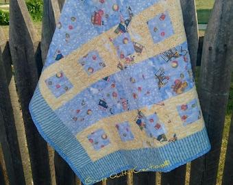 New Baby Quilt Blanket, Car Seat Blanket, Best selling items, Homemade Stroller Quilt, Wheelchair blanket, Gift for grandpa