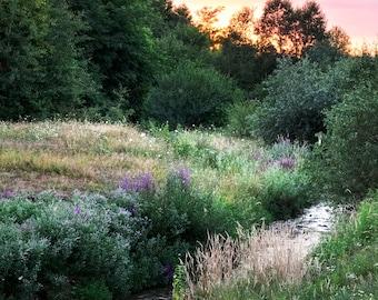 Landscape Photography - Fine Art Photography - Dragus Sunset 1 - Wall Art - Original Art Print - Sunset