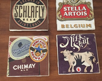 Beer Brand Drink Coasters