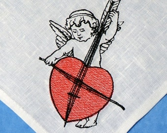 Cupid 0001 / Valentine's Day Decor   - digital design for embroidery machine