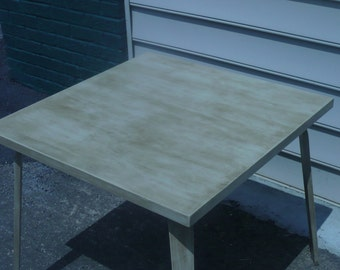 """Painted Table  30"""" square"""