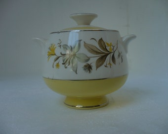 Maytime by Homer Laughlin Sugar Bowl (unmarked)