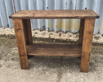 Industrial Up-Cycled Side table.