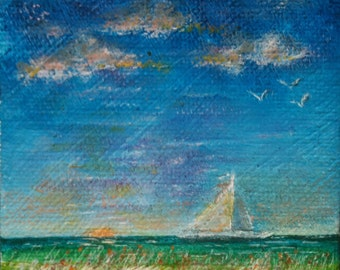 Sail Away Seascape