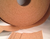 """24 Self Adhesive Cork Backing for Tile Coasters - 3.5"""" x 3.5"""" - Set of 24 - Made for 4"""" Tile or Tumbled Stone coasters"""