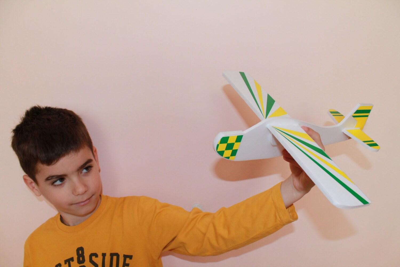 Aeroplane Decoration For Kids Room