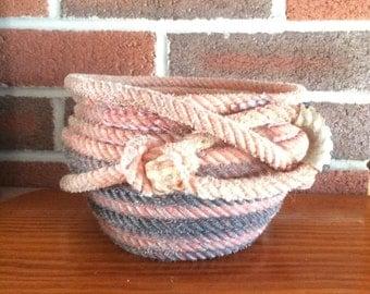 Potbelly Rope Basket