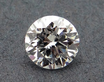 GIA Certified Loose 1.01ct Round Brilliant Cut Diamond I VVS2 6.34-6.41x3.91mm