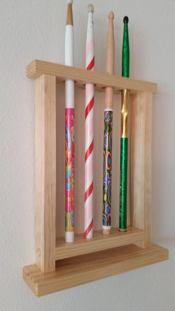 drum stick display drumstick holder holds 4 sticks by gnfstore. Black Bedroom Furniture Sets. Home Design Ideas
