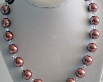 Maroon Shell Pearls