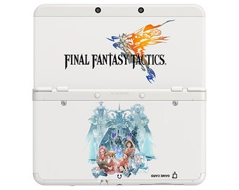 Cover Decal No. e02 (Final Fantasy Tactics) for 3DS and XL