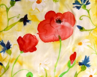 Poppies in Yellow