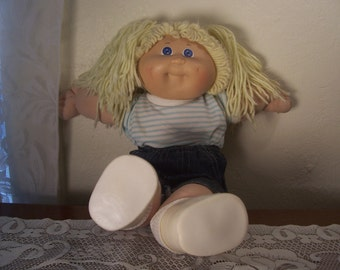 Vintage Cabbage Patch Doll By Appalachin Art Works