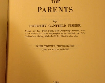Montessori for Parents by Dorothy Canfield Fisher.