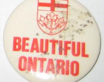 BUTTON: Beautiful Ontario