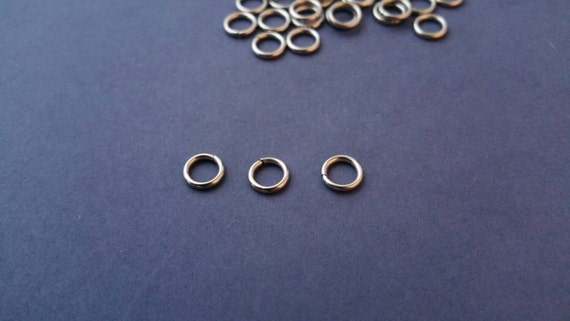4mm jump rings 4a 20 gauge wire durable stainless steel for Stainless steel jewelry durability