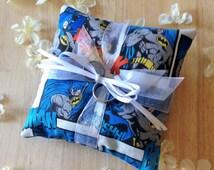 Batman Superhero Ring Bearer Pillow - Ring Pillow - Wedding Pillow
