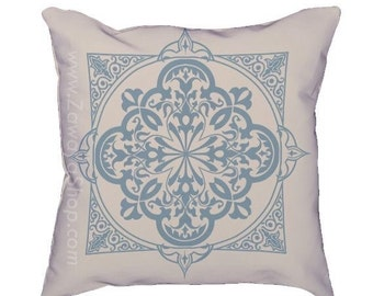 two islamic oriental Moroccan pillows home decor colors can be customized upon request