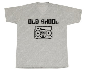 Old School Boombox - Men's V-neck