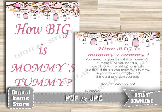Rare image regarding how big is mommy's belly free printable