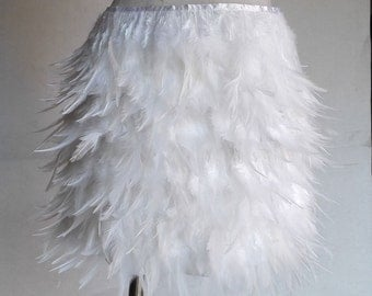 Multi-layer Hackle feather skirt # SKT022