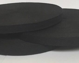 12 mm X 50M Roll Black Cotton Bunting Tape