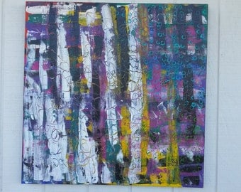 Abstract Painting - Colorful Painting - Purple Painting