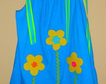 Anakates Flower Garden Girls Knit Tunic
