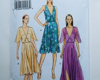 Vogue Misses 8899 Out-of-Print maxi evening dress sewing pattern Sz 6-14, Uncut