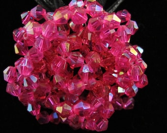 Czech Crystal Rose