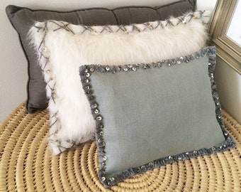 Rustic Glam Pillow
