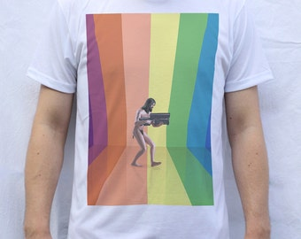 The Holy Mountain T Shirt Artwork