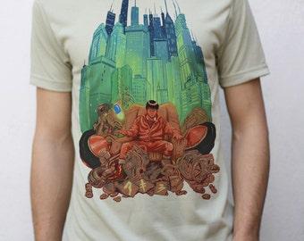 Akira Inspired T shirt Artwork