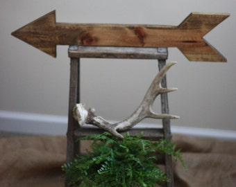 Rustic Wooden Arrow, Arrow Decor, Nursery Decor, Rustic Kitchen, Gallery Wall Decor, Rustic Décor, Shelf Decor