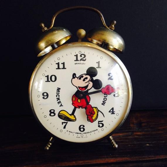 Mickey Mouse Alarm Clock Disney Mickey Mouse Alarm