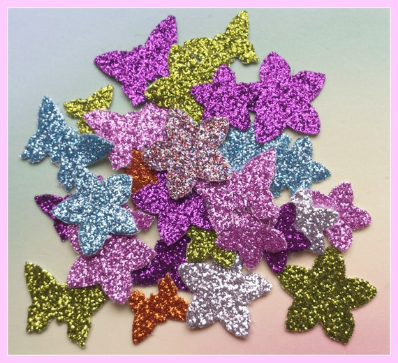 Glitter Fabric Die Cuts