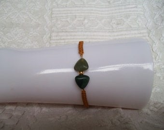 S - 266 Agate friendship bracelet