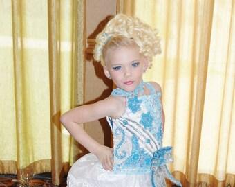 Glitz Pageant Dress custom made to order