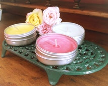 Meditation Candles - Votive pure soy wax, various essential oils and fragrances