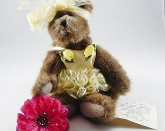 Boyds Bears Judith G. Collection Retired and Rare Unique Ballerina Bear