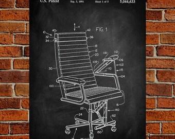 Chair Art Print, Chair Patent, Chair Vintage, Chair Blueprint, Chair Print, Chair Prints, Chair Wall Art, Chair Decor