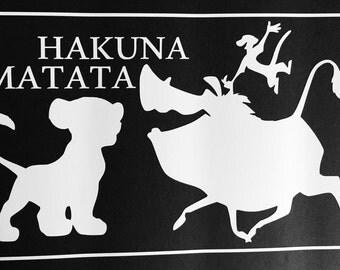 Hakuna Matata Decal