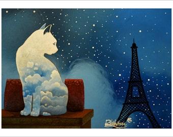 Cat blues in Paris