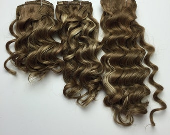 Clip-In Hair Extension Curly- high quality synthetic fibers