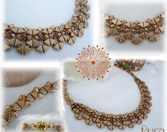 Schema necklace Jane by Puca