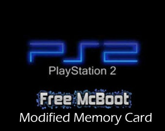 Playstation 2 8meg Memory Card Free MCBoot FMCB 1.95 Installed
