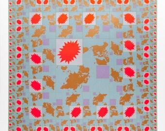 WORLD - Limited Edition Silk Screen Print