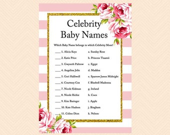 Celebrity baby names quiz download