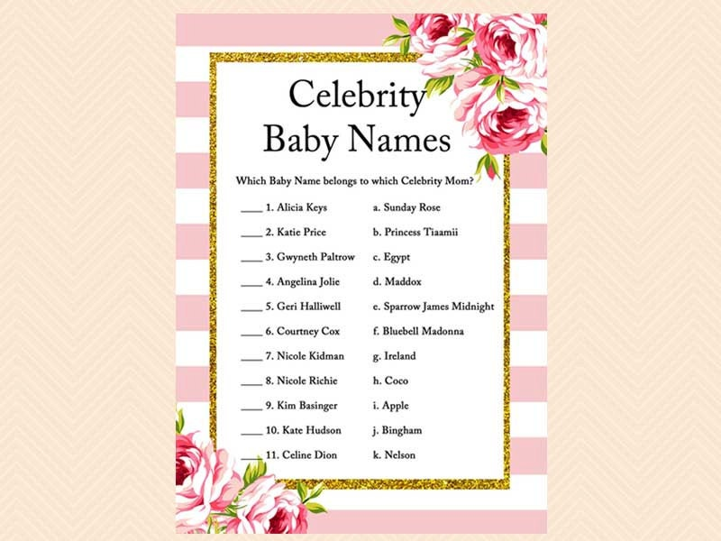 Celebrity baby girls born in 2018 | BabyCenter