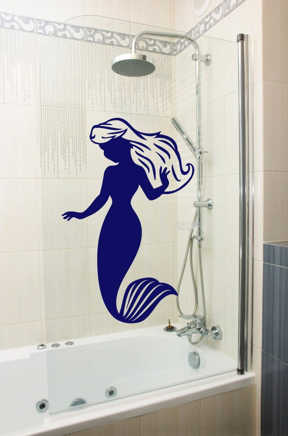 Mermaid Wall Sticker Girl 39 S Bedroom Or Sea Themed